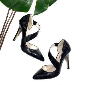 NEW Shoemint Black Patent Point High Heel Pumps 6